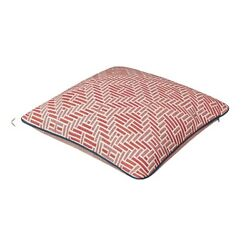 Vintage 2020 Hermes H Losange Throw Pillow Cushion Grenadine/red New In Box