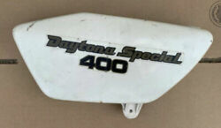1979 Yamaha Rd400f Daytona Special Left Side Cover Oil Tank Cover Crouch Rocket