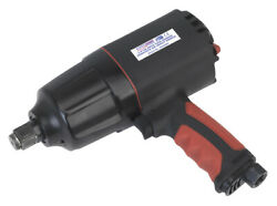 Sealey Gsa6004 Composite Air Impact Wrench 3/4sq Drive Twin Hammer
