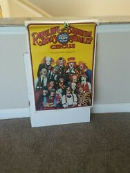 Ringling And Barnum And Bailey Brothers Circus Poster Antique Clowns