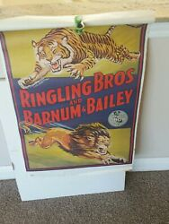 Ringling Brothers And Barnum And Bailey Antique Circus Poster