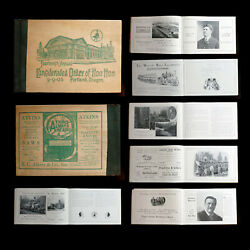 1905 Lewis And Clark Expo Order Of Hoo Hoo 272 Pg Or Pnw Logging Advertising Book
