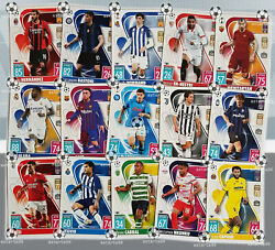 Match Attax Base Cards Champions League 21 22 2021 22 Choose From BAR ROM $1.00