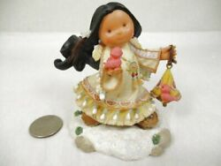 Enesco Friends Of The Feather Figurine Girl Birds Let Your Dreams Fly 2001 Hahn