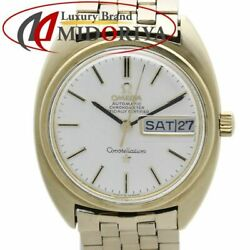 Omega Constellation Gerald Genta C-line Early Type 168.029 Cal.751 Auto