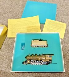 Ho Brass Model - Nwsl K-1 2-6-2 And Gearbox. Untested