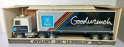 Parts Van Gm Goodwrench Semi Truck Tractor Trailer Nylint Pressed Steel Rare Vtg