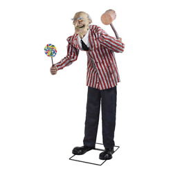 Candy Creep Standing Animated Halloween Holiday Party Prop Decoration New