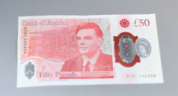 British Andpound50 Note Bank Of England Alan Turing Helped End The Second World War