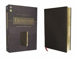 Nasb 1977 Thompson Chain-reference Bible-black Bonded Leather