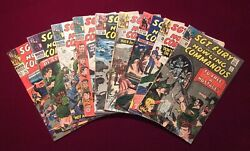 Lot Of 9 Early Sgt. Fury 21 22 23 24 25 26 28 31 34 All Vg Range