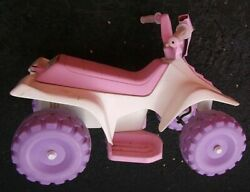Vintage Collectible Toy Barbie Battery Powered 4 Wheeler Ride On Quad 18-36m