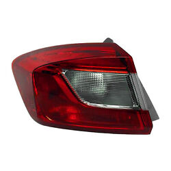 Gm2804124 New Replacement Driver Side Outer Tail Light Assembly Capa