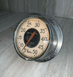 Vintage Airguide Speedometer Sea Speed Movement Marine Boat 0-50 Mph Accessory
