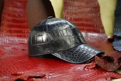 Ekzo Baseball Cap 100 Crocodile Leather Size 59 Also By Order Real Price 3200