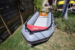 Avon S4.00 Sportboat Inflatable And Mariner 30hp 2-stroke Motor