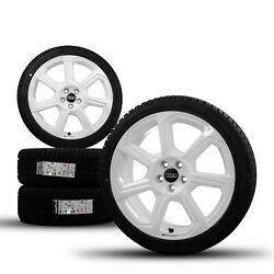 Audi 18 Inch Rims A1 Gb Rotor White Winter Tires Winter Wheels 82a601025ab