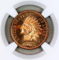 1902 Pf65 Rd Ngc Indian Head Penny Premium Quality Proof Example