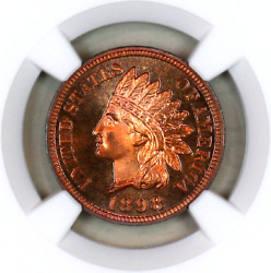 1898 Pf66 Rb Ngc Indian Head Penny Premium Quality Proof Example