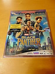 Black Panther Blu Ray Digital Code . Brand New w Slipcover Free Shipping