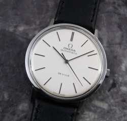 Antique Omega 1968 Self-winding Stainless Steel Watch Menand039s Used