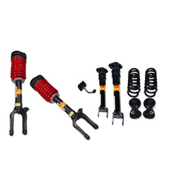 2007-2012 Mercedes-benz Gl450 4matic 4-wheel Air Suspension Conversion Kit With