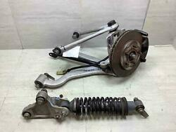 00-02 Chrysler Plymouth Right Passenger Knee W/ Strut Spindle And Control Arms