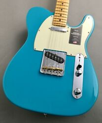 Fender American Professional ‡u Telecaster Miami Blue Guitar From Japan Zyi703