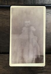 Spirit Photography Cdv By Mumler - Ghost Baby And Coffin Offers Considered