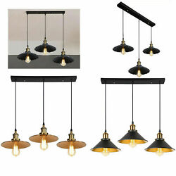Decorative 3way Style Modern Vintage Industrial Ceiling Lamp Shade Pendant Light