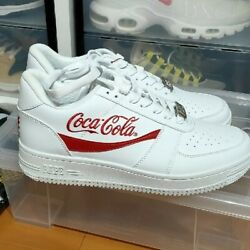 Us9 A Bathing Ape Bapesta Cocacola Collaboration Sneakers