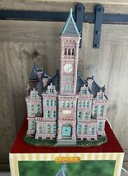 Lemax Christmas Village Collection Minnehaha County Courthouse Lighted Building