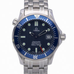 Omega Seamaster 213.30.42.40.01.00 With 41mm Steel Case And Black Dial. Good ...