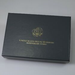 United States Mint 1991 Mount Rushmore 6 Coin Set Gold And Silver Ogp