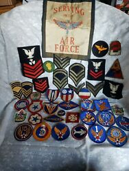 Wwii Ww2 U.s Military Patches Lot All Branches