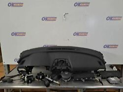 18-19 Honda Accord Oem Front Bag Set With Dash And Seat Belts Module