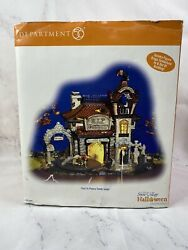 Dept 56 Snow Village Halloween Rip Rest In Peace Tombstones Motion 54608 Read..