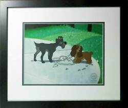 Lady And The Tramp Puppy Love Disney Limited 5000 Cell Picture Japan 27 Andtimes 35cm