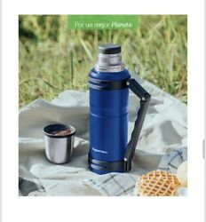 Tupperware Termo Jarra Termica Thermo Bottle Pitcher 1.2l Navy New