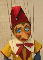 Pinocchio - Wooden Marionette, 22 Inches Tall, Handmade From Czech Republic