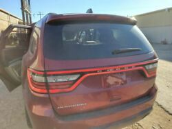 14 Durango Trunk/hatch/tailgate Privacy W/back Up Camera Red 991936