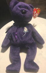 Princess Dianaandrsquos 1st Edition 1997 Ty Beanie Baby Rare In Perfect Condition