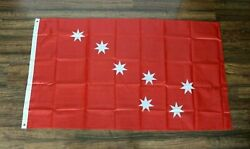 Cherokee Nation Banner Red Flag Battle War Native American Indian Tribal Tribe