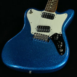 Fender Made In Japan Limited Super-sonic Blue Sparkle Guitar From Japan Hij65