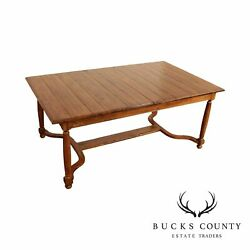 Ethan Allen 'old World Treasures' Coll. English Country Farmhouse Dining Table