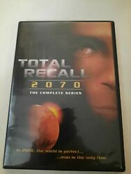 Dvd Total Recall 2070 Complete Series Used Very Rare Htf