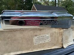 Vintage Nos Small Block Chevy Gm Performance Parts Chevrolet Racing Valve Covers