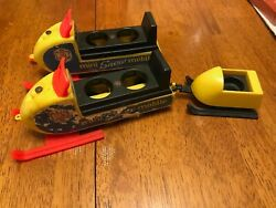1970 Fisher-price Snowmobile Lot Little People