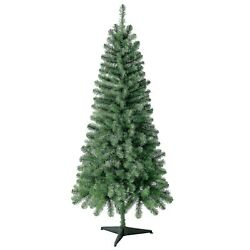 6 Ft Non-lit Wesley Pine Artificial Christmas Tree 378 Branch Tips