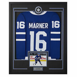 Mitch Marner Toronto Maple Leafs Signed 36x44 Framed Jersey Display
